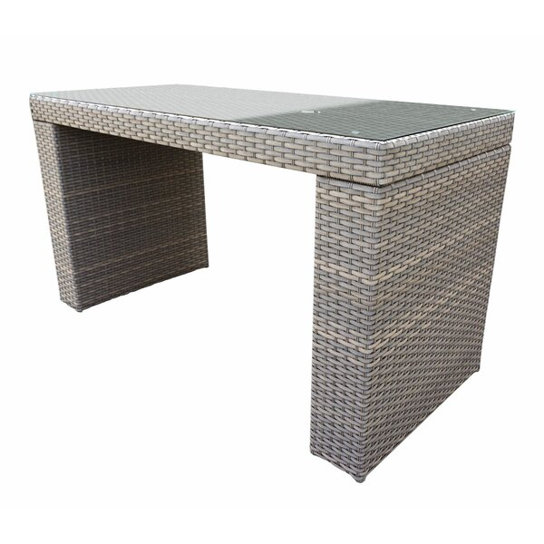 Joyeta Bar Table by Highland Dunes