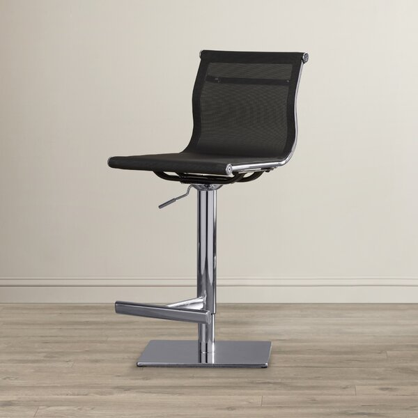 Urban Unity Travis Adjustable Height Bar Stool by Sunpan Modern