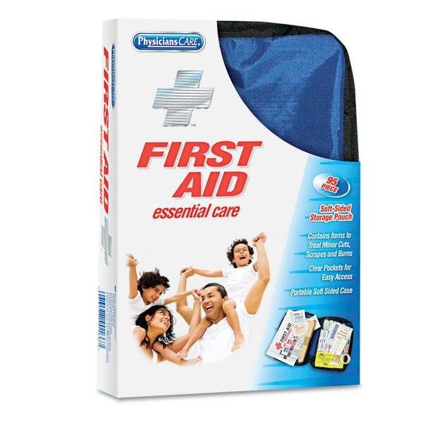 Physicianscare Soft-Sided First Aid Kit For Up To 10 People, Contains 95 Pieces by Acme United Corporation