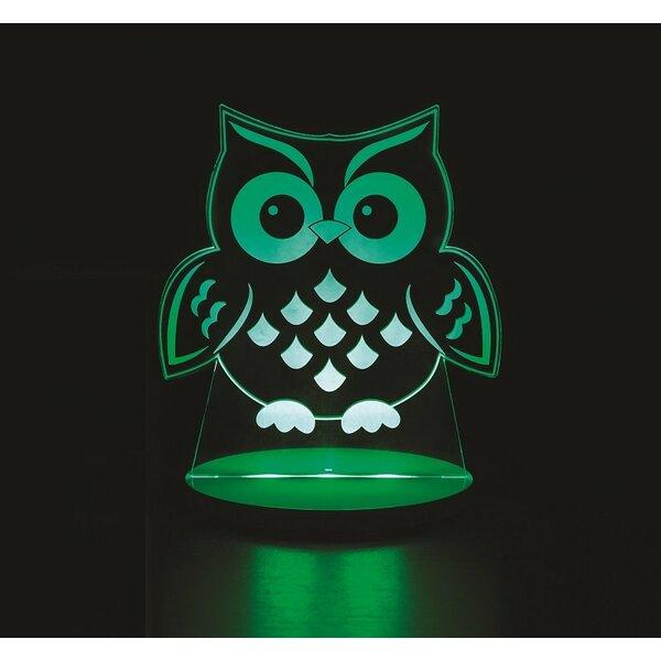 Owl Night Lights Insert by Tulio Dream Lights