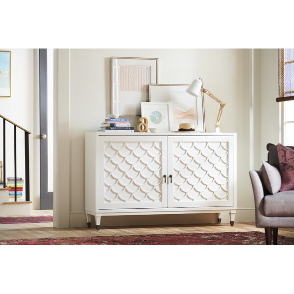 Scalloped Sideboard by YoungHouseLove YoungHouseLove