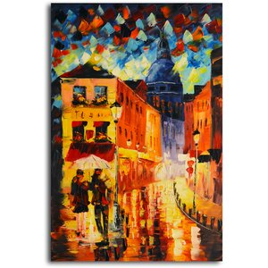 Night Life' Painting on Canvas by Omax Decor