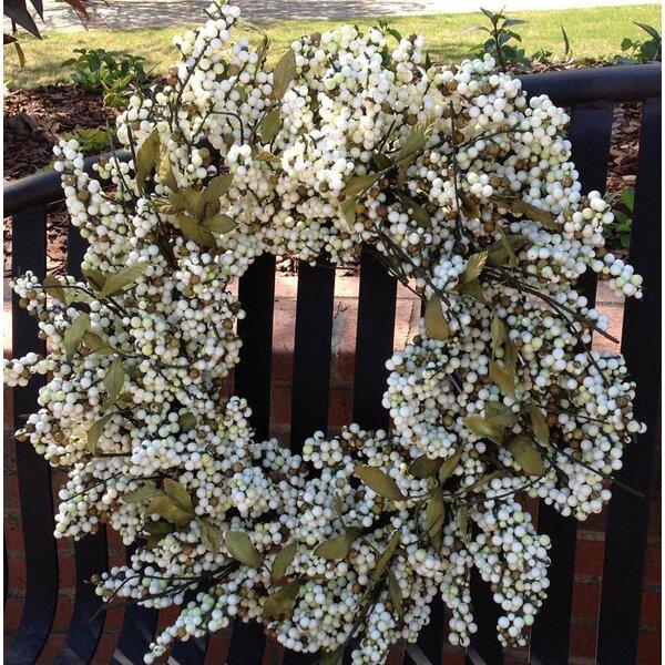 24 Berry Wreath by Flora Decor