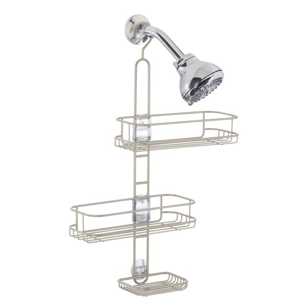 Eklund Adjustable Shower Caddy by Rebrilliant