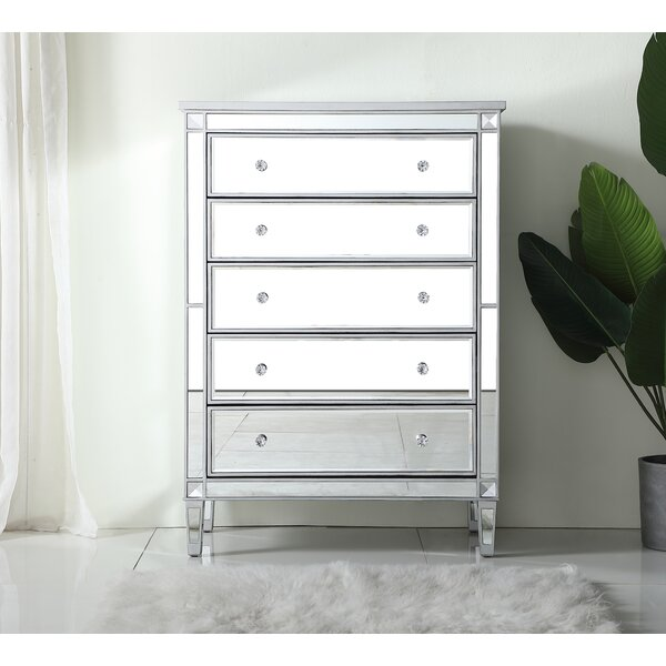 Sparks 5 Drawers Standard Chest by Prestige