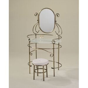 Newland Vanity Set with Mirror by Red Barrel Studio