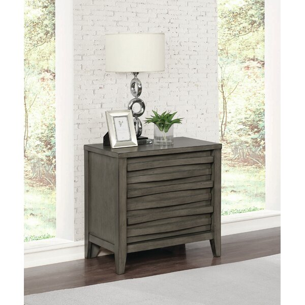 Wingard 2 Drawer Nightstand by Foundry Select