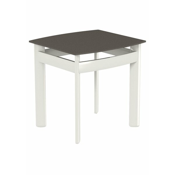 Square Aluminum Coffee Table by Tropitone