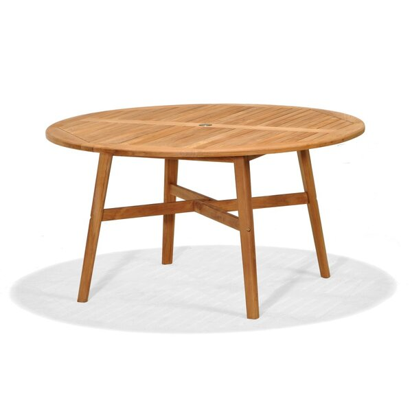 Pulver Solid Wood Dining Table by Highland Dunes