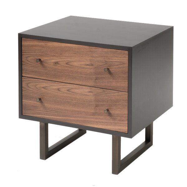 Willenhall 2 Drawer Nightstand by Corrigan Studio
