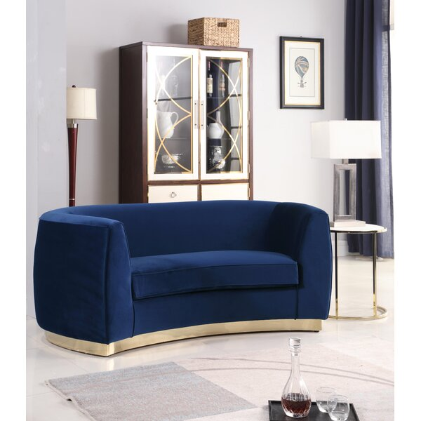 Get Name Brand Antonsen Loveseat by Orren Ellis by Orren Ellis