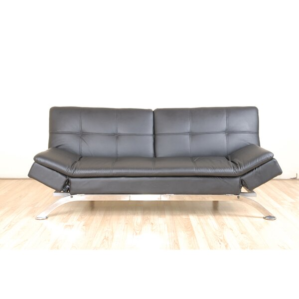 Malik Upholstered Sofa Bed by Orren Ellis