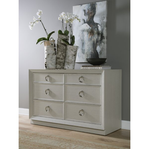 Zeitgeist 6 Drawer Double Dresser By Artistica Home by Artistica Home Best