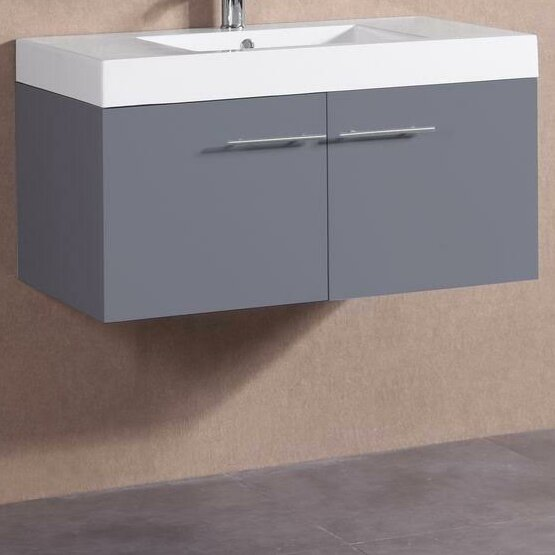 36 Single Modern Bathroom Vanity Set by Belvedere Bath