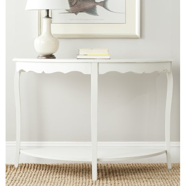 Joanna Solid Wood Console Table By Beachcrest Home