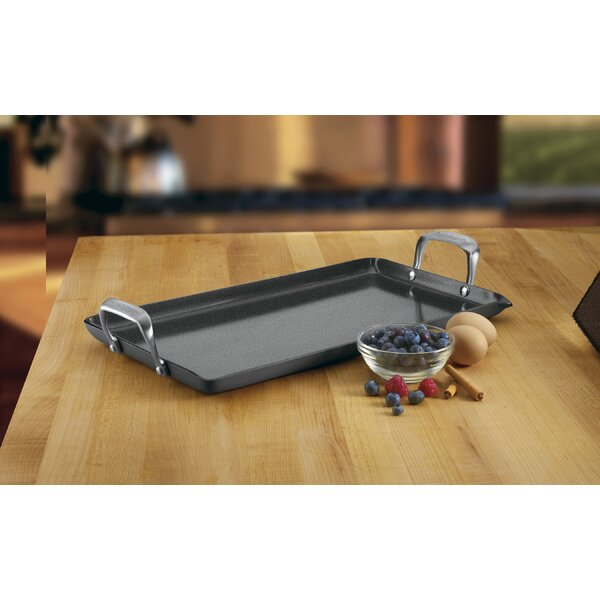 18 Non-Stick Double Burner Griddle by Cuisinart