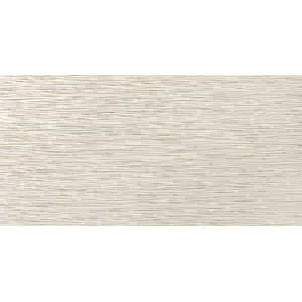 Strands 12 x 24 Porcelain Fabric Look/Field Tile in Oyster by Emser Tile