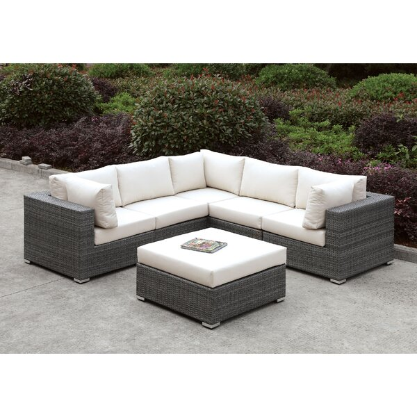 Peters 5 Piece Sectional Collection with Cushions by Brayden Studio Brayden Studio
