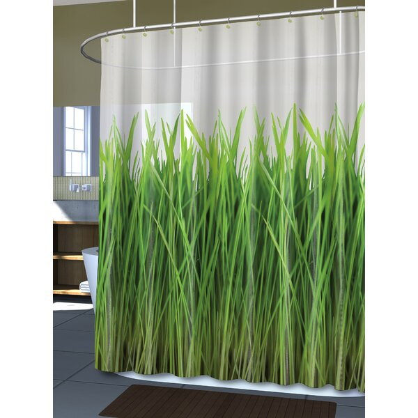 Royal Bath the Grass Is Always Greener Shower Curtain by Ben and Jonah