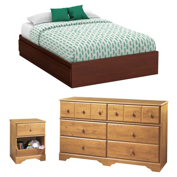 Little Treasures Platform Configurable Bedroom Set by South Shore