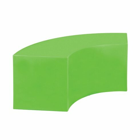Curve Crescent Plastic Garden Bench by Tropitone