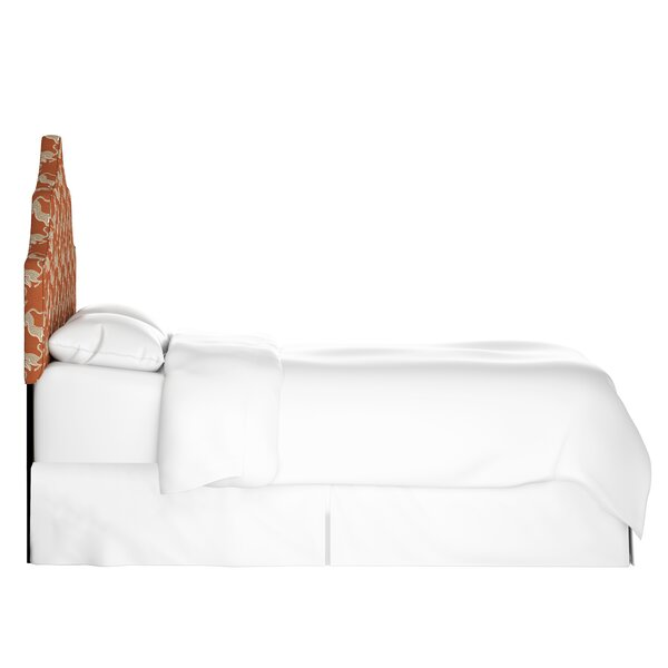 Notched Upholstered Panel Headboard by Mistana