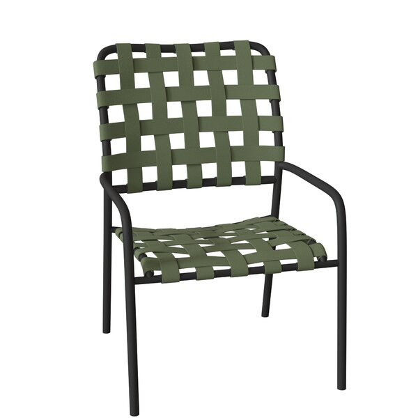 Kahana Stacking Patio Dining Chair by Tropitone