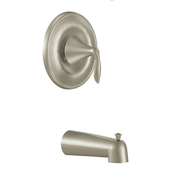 Eva Pressure Balance Tub and Shower Faucet Trim with Lever Handle and Posi-Temp by Moen Moen