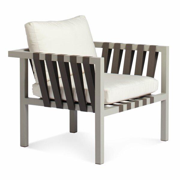 Jibe Lounge Chair with Cushion by Blu Dot