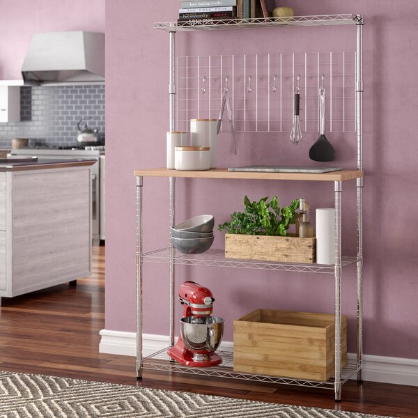 Shrewsbury Étagère Steel Baker's Rack by Wrought Studio