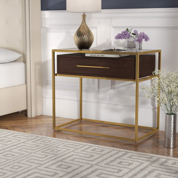 Elston 1 Drawer Nightstand by Willa Arlo Interiors