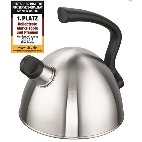 Wickie Stainless Steel Whistling Stove Top Kettle Schulte