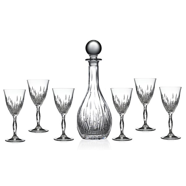 7-Piece Decanter Set by Lorren Home Trends