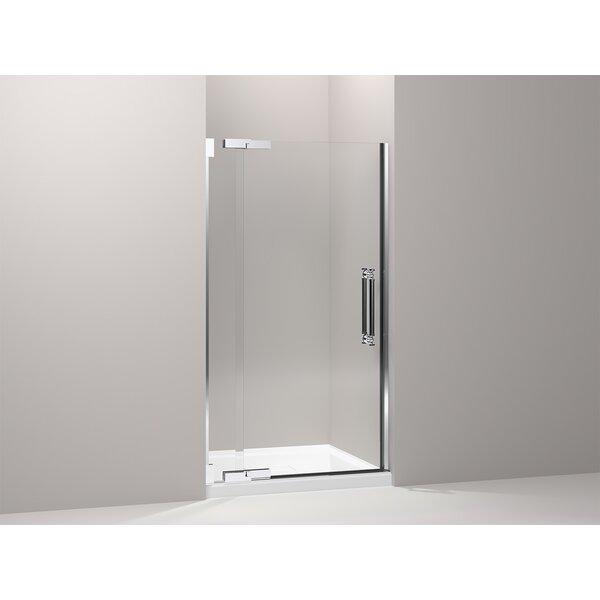 Pinstripe 41.75 x 72.25 Pivot Shower Door by Kohler