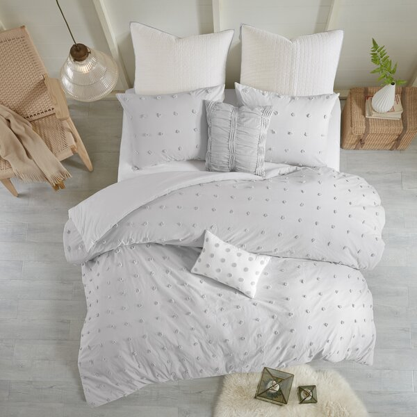 Aiden Cotton Duvet Set by Eider & Ivory
