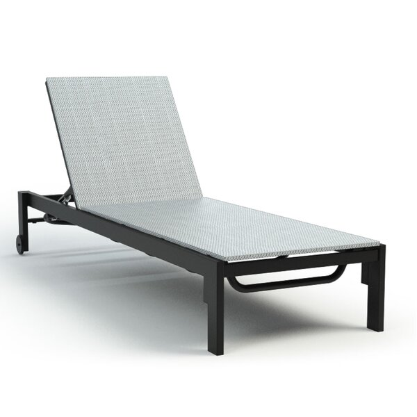 Gage Adjustable Armless Reclining Chaise Lounge by Breakwater Bay