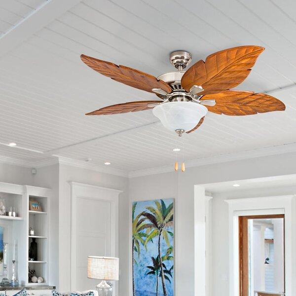 52 Hobkirk 5 Blade LED Ceiling Fan by Bay Isle Hom