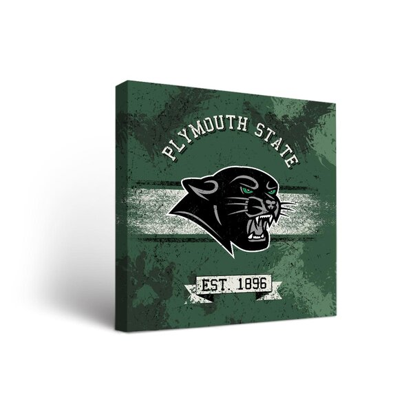 NCAA Banner Design Graphic Art on Wrapped Canvas by Victory Tailgate