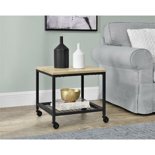 Low priced Parrott End Table By Williston Forge