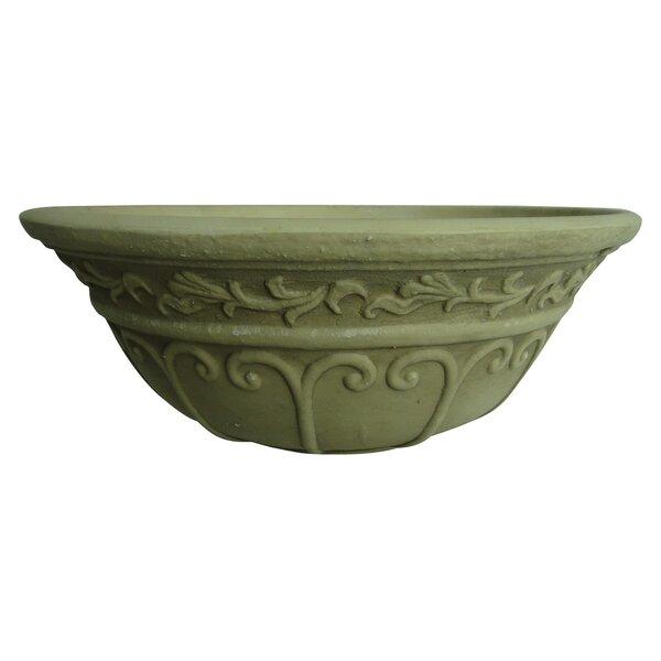 Fiber Clay Pot Planter by Griffith Creek Designs
