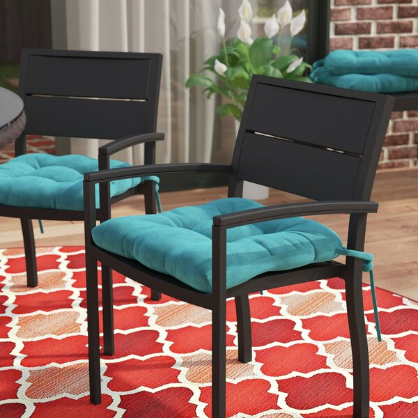 Indoor/Outdoor Dining Chair Cushion (Set of 4) by