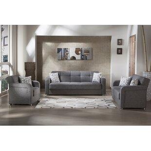 Vision 3 Piece Sleeper Living Room Set by Latitude Run®