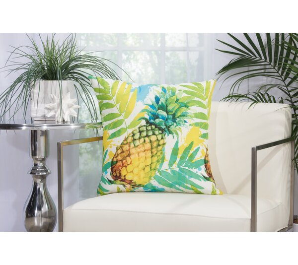 Chartion Indoor/Outdoor Throw Pillow by Bay Isle Home