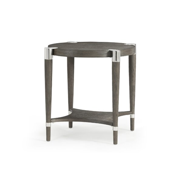 Beliveau End Table by Wrought Studio