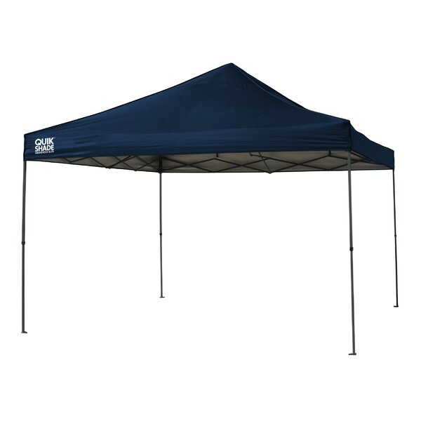 Quik Shade 12 Ft. W x 12 Ft. D Steel Pop-Up Canopy by QuikShade