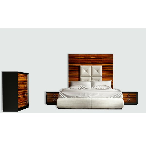 Huggins Panel 4 Piece Bedroom Set by Latitude Run