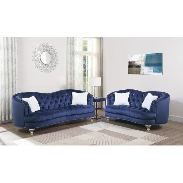 Noriega 2 Piece Living Room Set by Rosdorf Park