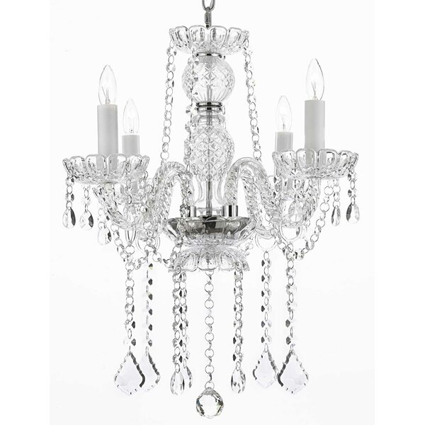 Kersh 4 - Light Candle Style Empire Chandelier By House Of Hampton