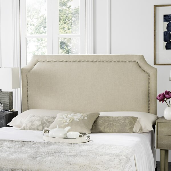 Millington Upholstered Panel Headboard by Three Posts