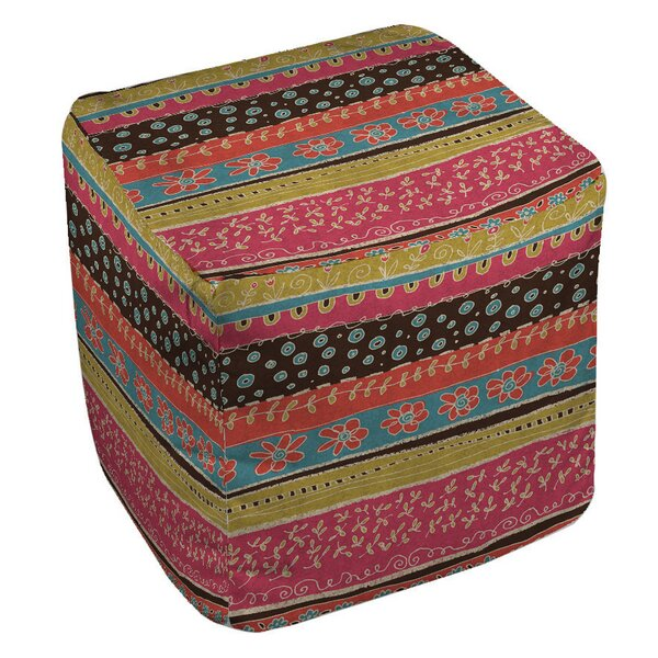 Dream Big Bohemian Pouf by Manual Woodworkers & Weavers